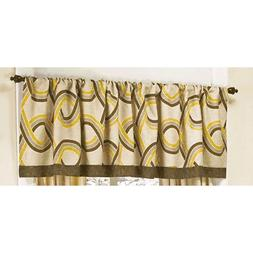 CoCaLo Couture CYPRUS Neutral Nursery Window Valance Beige Y