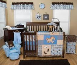 Trend Lab Cowboy Baby 3-Piece Nursery Crib Bedding Set