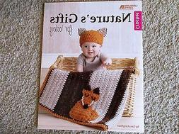 Leisure Arts CROCHET NATURE'S GIFTS FOR BABY blanket pattern