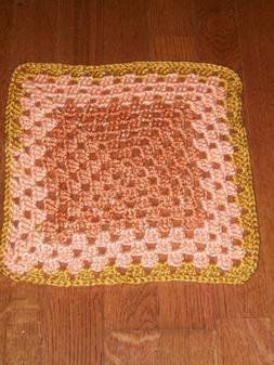 HANDMADE Crochet Preemie/Doll/Baby Security Snuggle Blanket