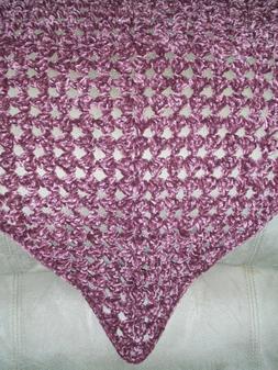HANDMADE Crochet Rich Velvet Baby/Toddler Blanket Afghan - C