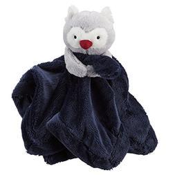 Carter's Cuddle Plush Blanket, Navy Blue Owl