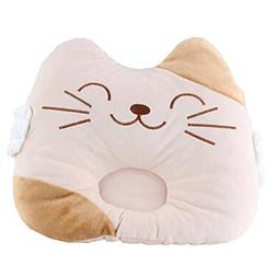 Cute Baby Soft Newborn Baby Pillow Prevent Flat Head Baby Pi