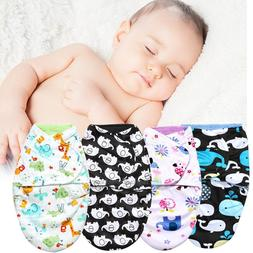 Cute Cartoon newborn Baby Infant Swaddle Wrap Swaddling Blan