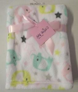 Cute Elephant Baby Blanket by Cutie Pie