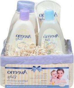 Aveeno Baby Daily Bathtime Solutions Gift Set to Nourish Ski