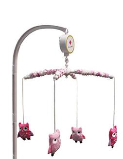 Dancing Owls Musical Crib Mobile by Belle