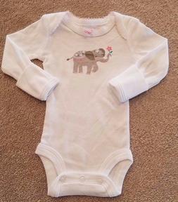 darling nwot carter s preemie elephant bodysuit