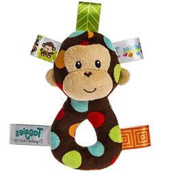 Taggies Dazzle Dots Monkey Rattle