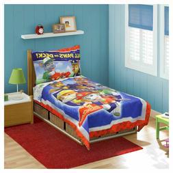 Paw Patrol All Paws on Deck 4 Piece Toddler Bedding Set