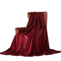 MERRYLIFE Decorative Throw Blanket Ultra-Plush Comfort   Sof
