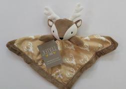 Levtex Baby Deer Reindeer Lovey Security Blanket Plush Soft