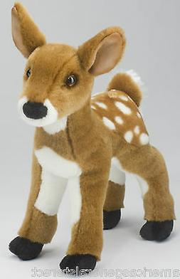 "DELILA FAWN Douglas Cuddle 10"" tall stuffed animal PLUSH ani"