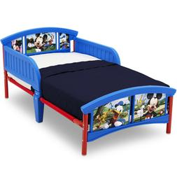 Delta Disney Mickey Mouse Plastic Kids Toddler Bed Boys Girl