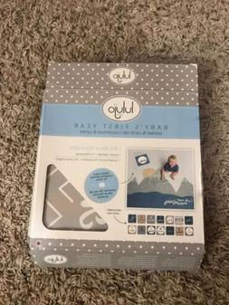 Mary Meyer E8 Boy Baby's First Year Milestone Swaddling Photo Blanket /& Cards
