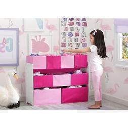 Delta Children Deluxe Multi-Bin Toy Organizer with Storage B