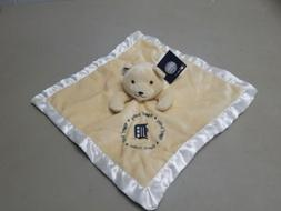 BABY FANATIC DETROIT TIGERS BEAR SECURITY BLANKET LOVEY Tige