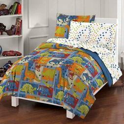 Dream Factory® Dinosaur Blocks Comforter Set