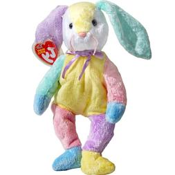 Dippy the Patchwork Easter Bunny Rabbit - Ty Beanie Babies