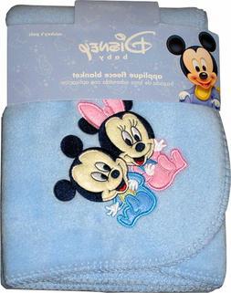 Disney Babies Mickey Mouse & Minnie Mouse Fleece Blanket