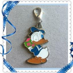 ❤️ Disney Donald Duck ❤️ Zipper Pull Charm with Lobs