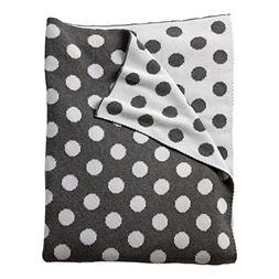 Ethan Allen | Disney Dotty Stroller Blanket, Mouse Grey