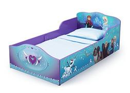Disney Frozen Toddler Bed with High Side Rails