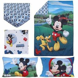 Disney Mickey Mouse Play House 4 Piece Toddler Bedding Set