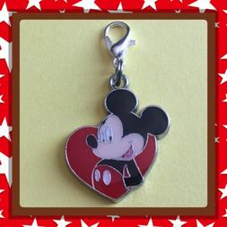 ❤️ Disney Mickey Mouse ❤️ Zipper Pull Charm with Lob