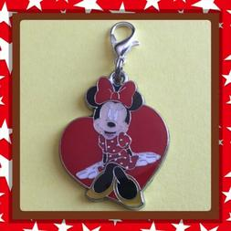 ❤️ Disney Minnie Mouse ❤️ Zipper Pull Charm with Lob