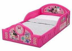Disney's Minnie Mouse Deluxe Toddler Bed with Attached Guard