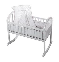 Baby Doll Bedding Soho Cradle Bedding Set with 100% cotton t