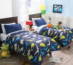 Dinosaur Dinos Comforter Bedding 1PC Bedroom Bedspread Twin/