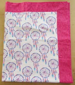 Handmade Double Flannel Baby/Toddler Blanket Dreamcatchers P