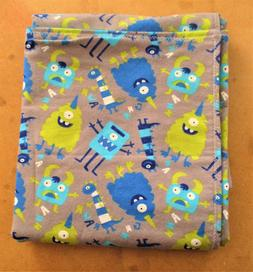 Handmade Double Flannel Baby/Toddler Blanket Monsters Blanke