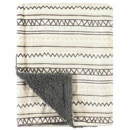 Hudson Baby Double Layer Blanket, Aztec