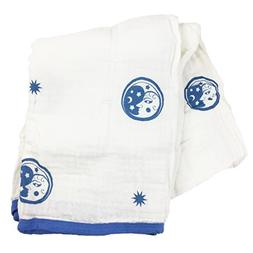 Bambino Land Double Layer Muslin Swaddling Blanket  Made fro