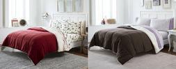 Cannon Down Alternative Sherpa Comforter, Twin, Full/Queen,