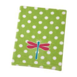 Sadie & Scout Dragonfly Blanket, Green