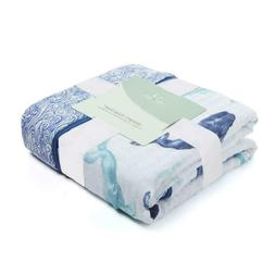 Aden + Anais Dream Blanket, 100% Cotton Muslin, 4 Layer Ligh