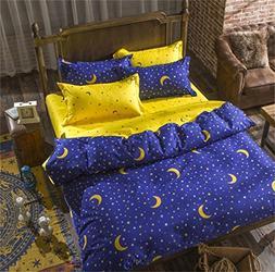 Sookie 3 Piece Duvet Cover Set with 2 Pillow Shams - 800 Thr
