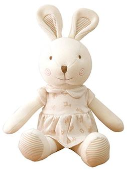 No Dyeing Organic Cotton Baby First Toy. Amy the Bunny 19.6