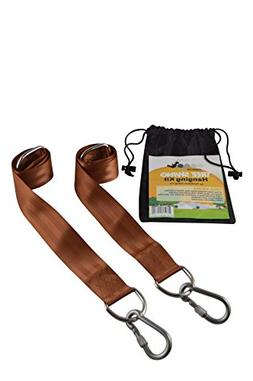 EASY-HANG SWING STRAPS  – 2 Straps + Safety Screw-Lock Car
