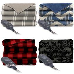 Electric Throw Blanket Heated Fleece Warming Blankets ASSORT