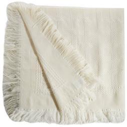 Cozy Bed Elegant Baby Blanket, Ivory