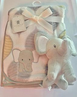 Tag Along Friends Elephant Baby Blanket