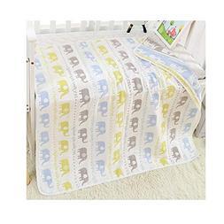 Brandream Baby Blanket Muslin Cotton Receiving Toddler Blank