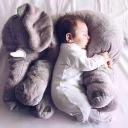 Elephant Stuffed Animal Plush Toy for Children Kids Baby Bed