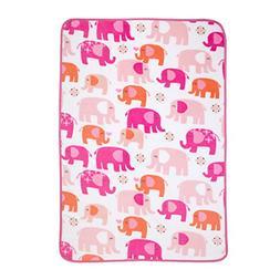 Carter's Elephant Walk Toddler Blanket