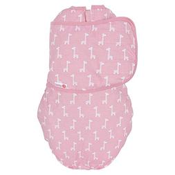 embe 2-Way Classic Cotton Swaddle for Babies, 0-4 Months, 6-